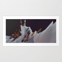 Ilez Kerguelen I Art Print