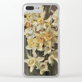 Muckley, Louis F. (1862-1926) - Cassell's Dictionary of Practical Gardening 1902 - Daffodils Clear iPhone Case