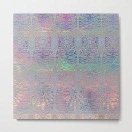 212 12 Abstract Seashell Pastel Metal Print