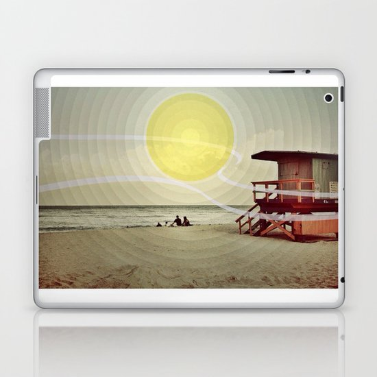 Miami Beach Laptop & iPad Skin