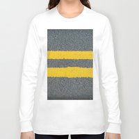 street Long Sleeve T-shirts featuring Street by Anna Berthier