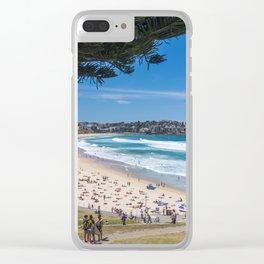 Bondi Beach looking north. Clear iPhone Case