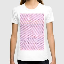 The System - pink T-shirt
