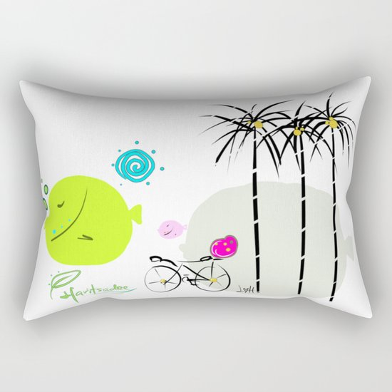 design 1 Rectangular Pillow