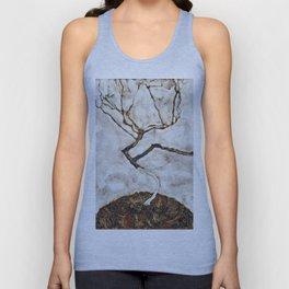 Egon Schiele - Small Tree In Late Autumn Unisex Tank Top