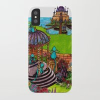 monkey island iPhone & iPod Cases featuring Monkey Island by Charlie L'amour