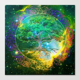 Tree of Life Wellness Canvas Print
