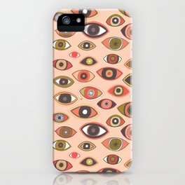 Pattern Project #16 / Hungry Eyes iPhone Case