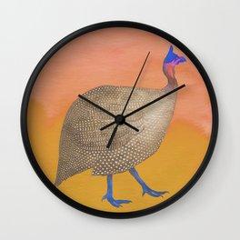 Boho exotic bird Wall Clock