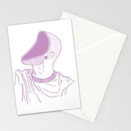 Pastel Pink Mindless Illustration Stationery Cards