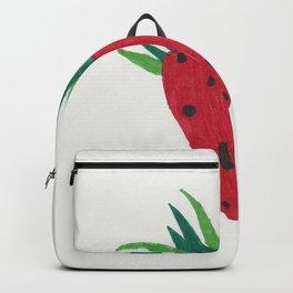 Strawberry Tone Art Backpack
