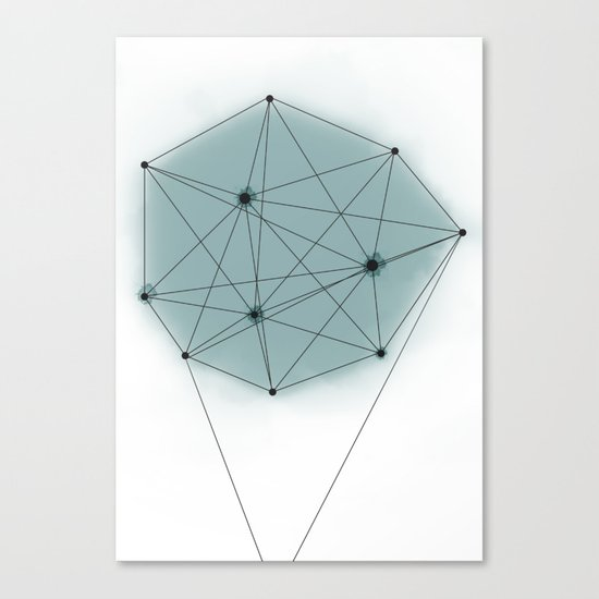 poly_ Canvas Print