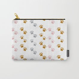 Cute Paw Print Pattern Carry-All Pouch