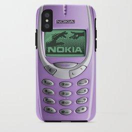 OLD NOKIA Purple iPhone Case