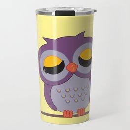 Hello Mrs. Owl Travel Mug