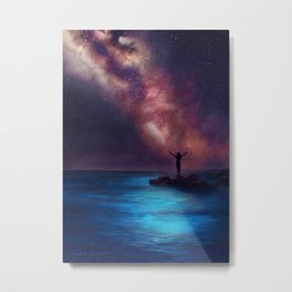 Between the Stars and the Sea Metal Print