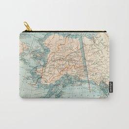 Vintage Alaska Carry-All Pouch