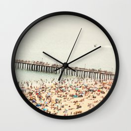 The Summers we leave behind Wall Clock
