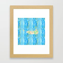 Nantucket, MA Framed Art Print