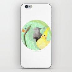Two Cockatiels iPhone & iPod Skin