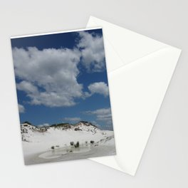 Dune Oasis Stationery Cards