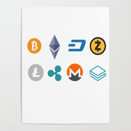 Cryptocurrencies Poster