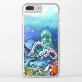 Illuminated Depth Clear iPhone Case