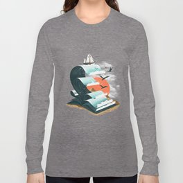 Waves of Knowledge Long Sleeve T-shirt