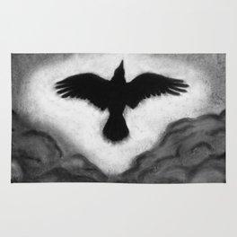 Flight of the Crow Rug