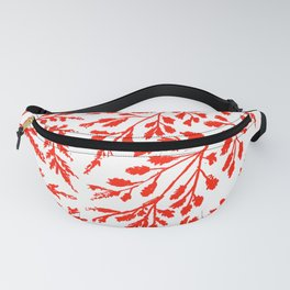 Red Fern Fanny Pack
