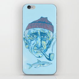 Cousteau. iPhone Skin