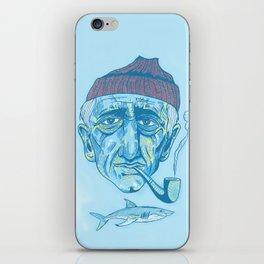 Cousteau. iPhone Skin