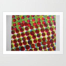 165 Circles Art Print