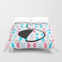 body Duvet Covers featuring Busy Body by CrypticFragments Design
