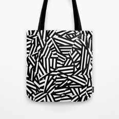 Simply Black and White 1 Tote Bag