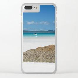 Whitsunday Island Clear iPhone Case