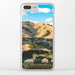 Regusci Winery - Napa Valley Clear iPhone Case
