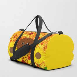 A Great Day To Pick Sunflowers Duffle Bag
