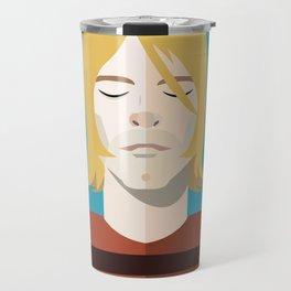 Dead Celebs Volume 1: Kurt Travel Mug
