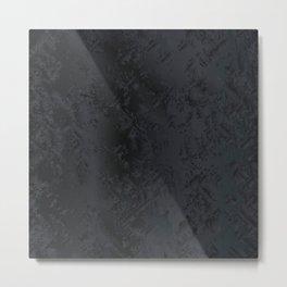 Blac And Tan Abstract Metal Background Metal Print