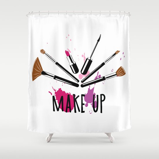 Makeup Colorful Ilration Shower