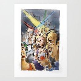 Rock Down to Electric Avenue Art Print