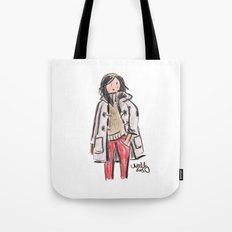 Duffle Coat Tote Bag
