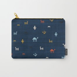Jarmo in Blue Carry-All Pouch