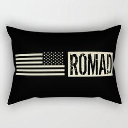 ROMAD (Black Flag) Rectangular Pillow