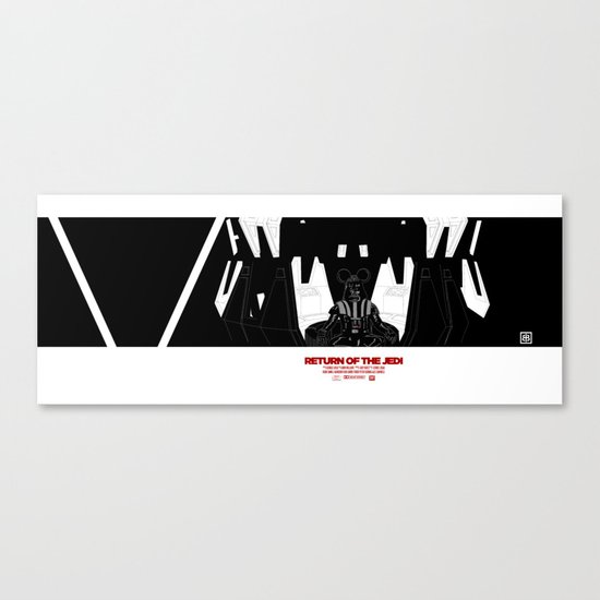 Episode V — Vador Mouse Chambers Canvas Print