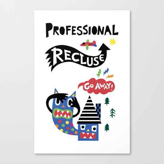 Professional Recluse Canvas Print