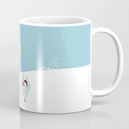 Santa and the little Angel Coffee Mug