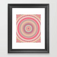 MANDALA DCXXI Framed Art Print