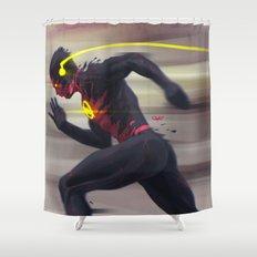 Reverse Flash Shower Curtain
